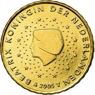 Pays-Bas, 10 Euro Cent, 2005, SUP, Laiton, KM:237 - Pays-Bas