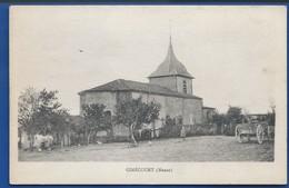 GIMECOURT   Animées          écrite En 1918 - Sonstige Gemeinden