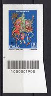2018 - ITALIA - Santo Natale -soggetto Laico- - COD  -  Mint - MNH - 1946-.. République