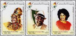Uruguay - 2019 - Carnival In Uruguay - Mint Stamp Set - Uruguay