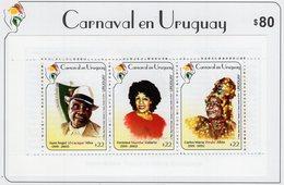 Uruguay - 2019 - Carnival In Uruguay - Mint Stamp Booklet - Uruguay