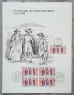 FDC 1971 - YT N°1678 - OUVERTURE DES ETATS GENERAUX - Sur GRAVURE MAZELIN - FDC