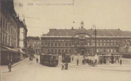 Chemins De Fer - Tramway - Chemins De Fer Belges - Liège - Palais De Justice Place St-Lambert - Tramways