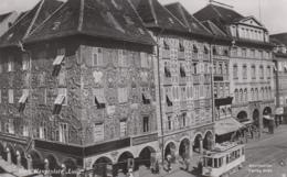 Chemins De Fer - Tramway - Chemins De Fer - Autriche - Graz - Hauptplatz - Sculptures Architecture - Tramways