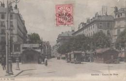 Chemins De Fer - Tramway - Chemins De Fer - Suisse - Genève - Cours De Rive - 1904 - Tramways