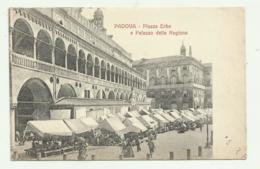 PADOVA - PIAZZA ERBE E PALAZZO DELLA REGIONE  - NV  FP - Padova (Padua)