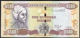 Jamaica - 500 Dollars 2017 - P85 - Jamaica