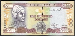Jamaica - 500 Dollars 2017 - P85 - Giamaica