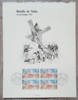 FDC 1971 - YT N°1679 - BATAILLE DE VALMY - Sur GRAVURE MAZELIN + Signature DECARIS - FDC