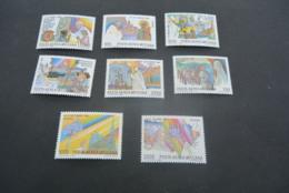 K20664 - Set MNH  Vatican City 1986 - SC. C75-82 - Journeys Of Pope John Paul II - Posta Aerea