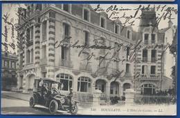 HOULGATE     L'Hôtel Du Casino      Vieille Voiture   Animées     écrite En 1911 - Houlgate