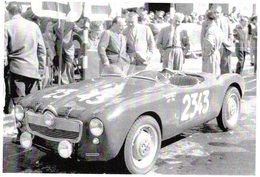 Panhard Dyna Allemano   -  Rallye Mille Miglia 1952  -  Pilotes: Marchese/Palvarini  -  CPM - Rallyes