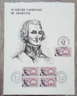 FDC 1971 - YT N°1699 - ACADEMIE NATIONALE DE MEDECINE - Sur GRAVURE MAZELIN - FDC