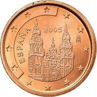 Espagne, 2 Euro Cent, 2005, SUP, Copper Plated Steel, KM:1041 - España