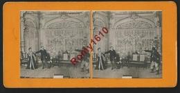 """Photo Stéréoscopique. Ambigu, Gigolette """"Juge Et Forçat""""  (6e Tableau) Théâtre, Spectacle. - Photos Stéréoscopiques"""