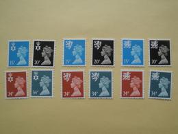 1989  Grande Bretagne Yv 1422/33  ** MNH Série Courante Cote 28.00 € Michel Nir 51/4 Sch 53/6 Wal 52/5  Definitives - 1952-.... (Elizabeth II)