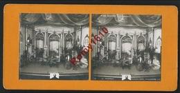 """Photo Stéréoscopique. Au Casino. Miss Helyett. (3e Tableau) """"Le Portrait""""  Spectacle, Théâtre. - Photos Stéréoscopiques"""