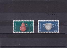 GUERNESEY 1976 EUROPA Yvert 128-129 NEUF** MNH - Guernesey
