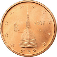 Italie, 2 Euro Cent, 2007, TTB, Copper Plated Steel, KM:211 - Italie