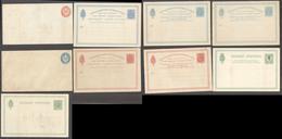 D.W.I.. C.1882-99. Mint Stat Selection Of 9 Incl 3 Dobles 2 Env. Opportunity. - Antillas Holandesas