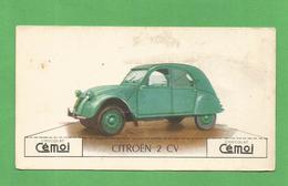 IMAGE CHOCOLAT CEMOI AUTO VOITURE VINTAGE WAGEN OLD CAR CARD CITROEN 2 CV - Chocolat
