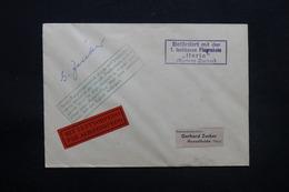"""ALLEMAGNE - Enveloppe Par Fusée """" Herta """" En 1960 Pour Hasselfelde , étiquette  """"Aérotorpedo """" - L 28298 - Briefe U. Dokumente"""