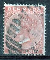 Bermuda Queen Victoria 1d Stamp From The 1865 Definitive Set. - Bermuda