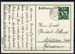 """German Empires,DR 1938 GS 5.Jahrestag 30.Januar Mi.Nr.P267 Mit TST""""Tiengen-Oberrhein"""" 1 GS Used - Germania"""