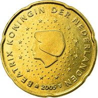 Pays-Bas, 20 Euro Cent, 2005, SUP, Laiton, KM:238 - Pays-Bas