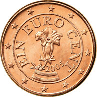 Autriche, Euro Cent, 2005, SUP, Copper Plated Steel, KM:3082 - Austria