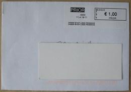 België 2019 Press Shop Liege Regence 4000 - PRIOR In Zwart Kader - Postage Labels