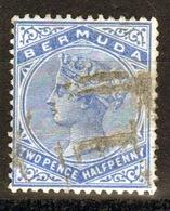 Bermuda Queen Victoria 2½d Stamp From The 1883 Definitive Set. - Bermuda