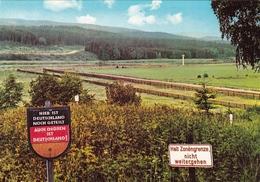 Ca. 1980 Zonegrenze Im Harz Deutschland Kleur Blanco - Douane