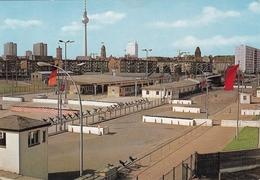 Ca. 1980 Berlin Grenzübergang Heinrich Heine Strasse Kleur Blanco - Douane