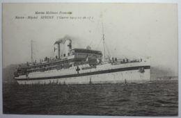 BATEAUX - Marine Militaire Fançaise Navire Hôpital SPHINX (Guerre 1914-17) - Guerre