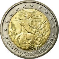 Italie, 2 Euro, European Constitution, 2005, TTB, Bi-Metallic, KM:245 - Italie