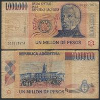 Argentina / 1981-83 / 1,000,000 Pesos / P: 310 / VG - Argentine