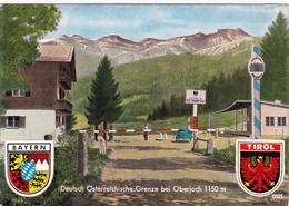 DUITSLAND 1965 Deutsch-Osterreichische Grenze Oberjoch / Allgäu - Scattwald Tirol Kleur Blanco - Douane