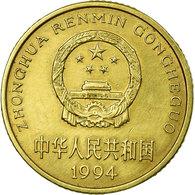 Monnaie, CHINA, PEOPLE'S REPUBLIC, 5 Jiao, 1994, TTB, Laiton, KM:336 - Chine