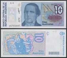 Argentina / 1985-89 / 10 Australes / P: 325b / UNC - Argentine