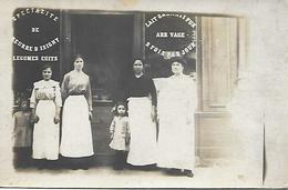 A IDENTIFIER -  CARTE POSTALE PHOTO -  MAGASIN -  SPECIALITE DE BEURRE D ISIGNY - Postcards