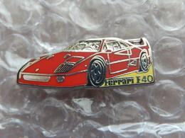 Pins -  FERRARI F40 - Ferrari