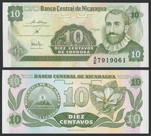 Nicaragua / 1991 / 10 Centavo / P: 169 / UNC - Nicaragua