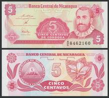 Nicaragua / 1991 / 5 Centavo / P: 168 / UNC - Nicaragua
