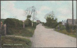 Main Road, Creaton, Northamptonshire, 1907 - LN Publishing Co Postcard - Northamptonshire