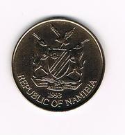 //  NAMIBIA  5  DOLLARS  1993 - Namibia