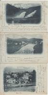 Spa - Lot 3 Cartes Coo Précurseur 1901 - Spa