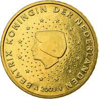 Pays-Bas, 50 Euro Cent, 2003, SUP, Laiton, KM:239 - Pays-Bas
