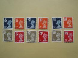 1989  Grande Bretagne Yv 1499/1510  ** MNH Série Courante Cote 30.05 €  Michel Nir 55/8 Sch 57/0  Wal 56/9  Definitives - 1952-.... (Elizabeth II)