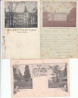 Fayt-lez-Manage - Lot 3 Cartes Précurseur 1903... Taches - Manage